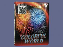 Colorful World Red GW218-93